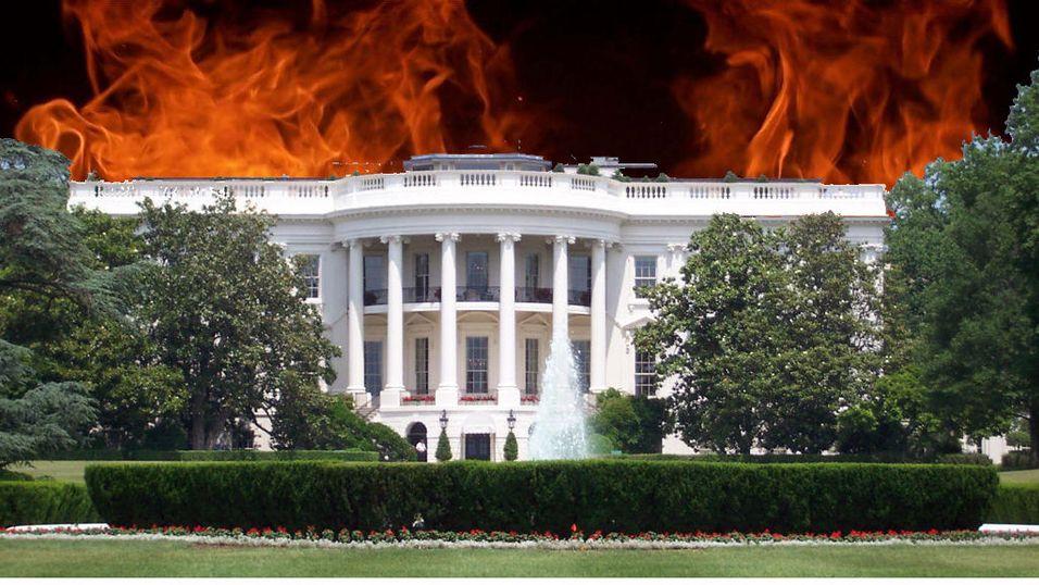 Det hvite hus brenner