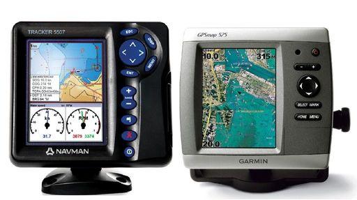 Gps båt navigasjon