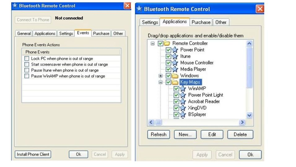 Bluetooth Remote Control v4.0
