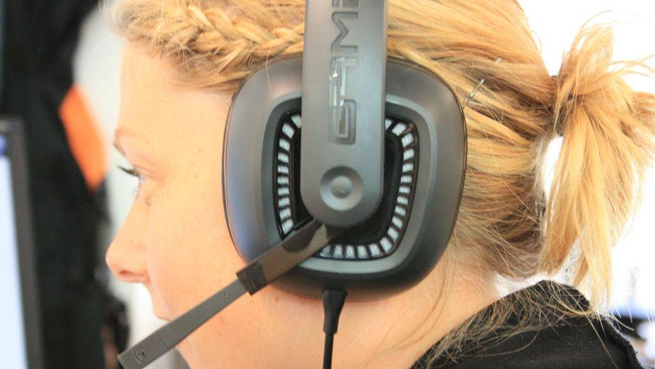 Dolby surround-lyd på øret