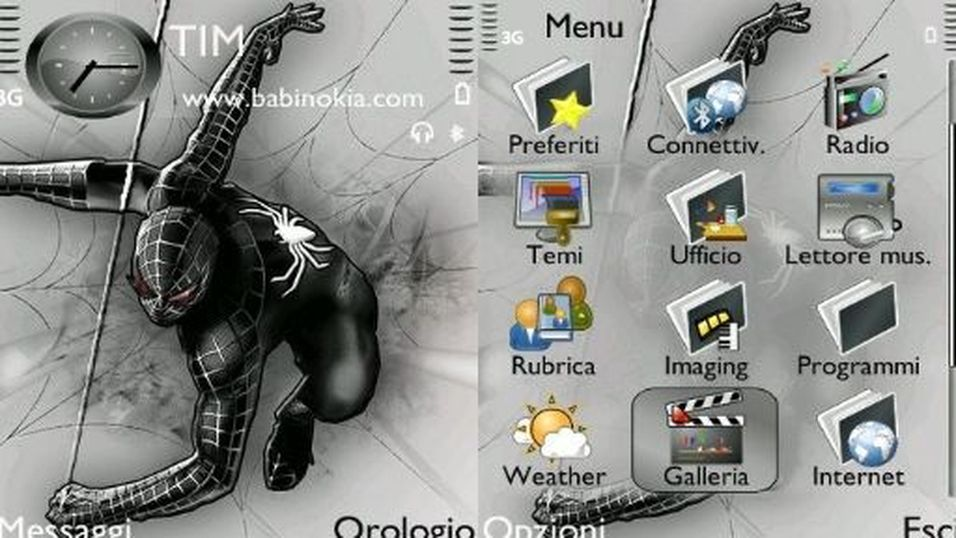 Dark Spiderman mobiltema