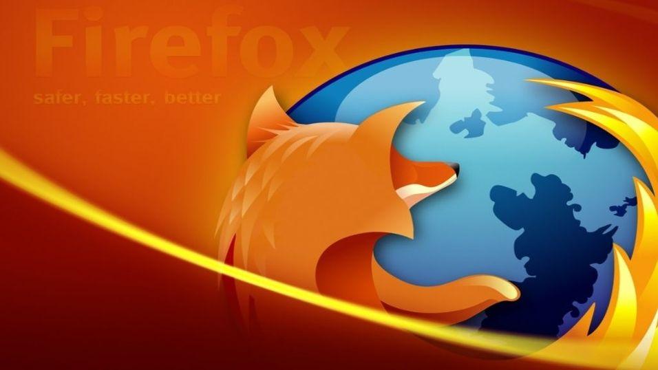 Firefox vokser