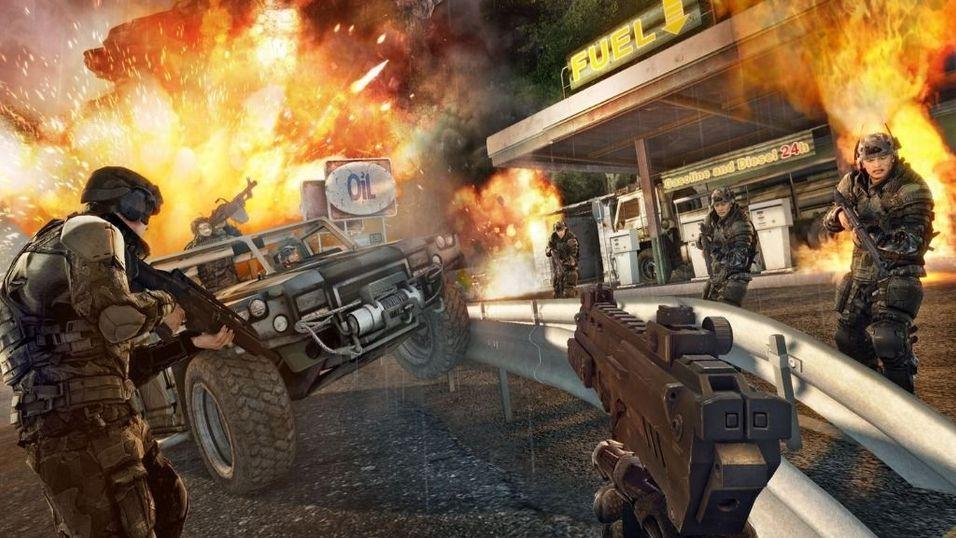 EA med egne spillmaskiner