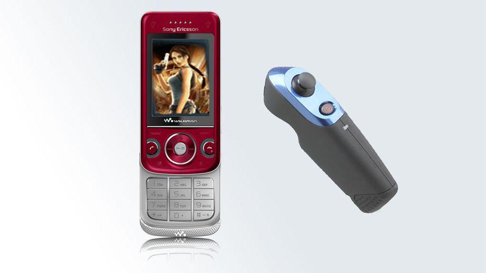 Først ute med spillkontroll til mobilen
