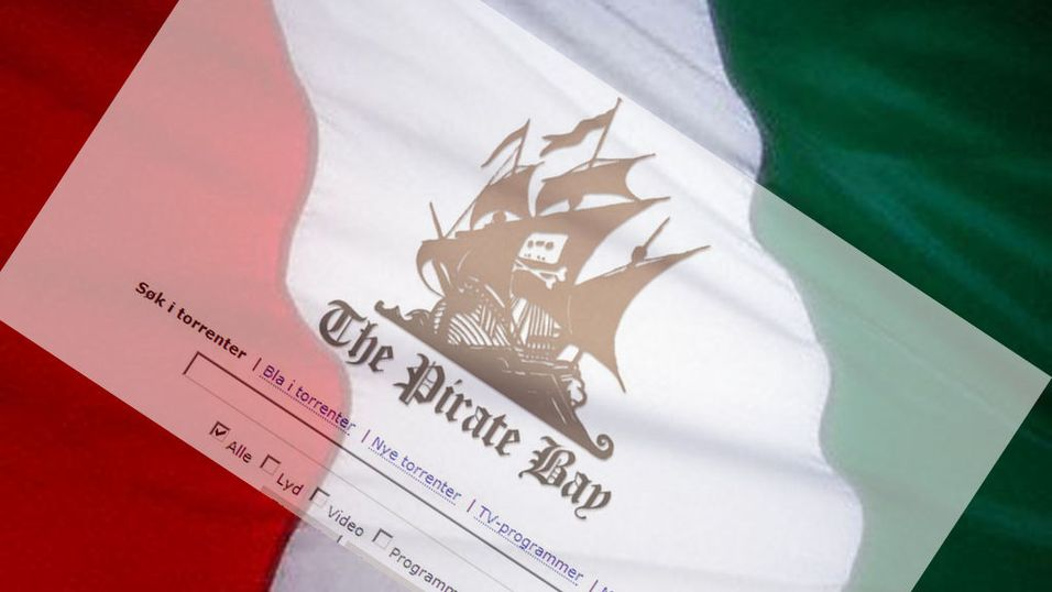 Italia sensurerer Pirate Bay