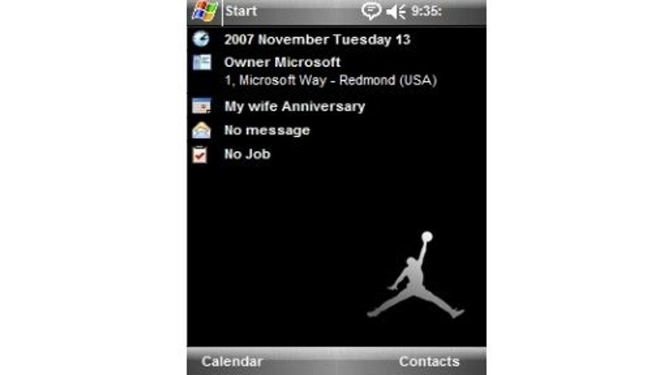 Jumpman Jordan mobiltema