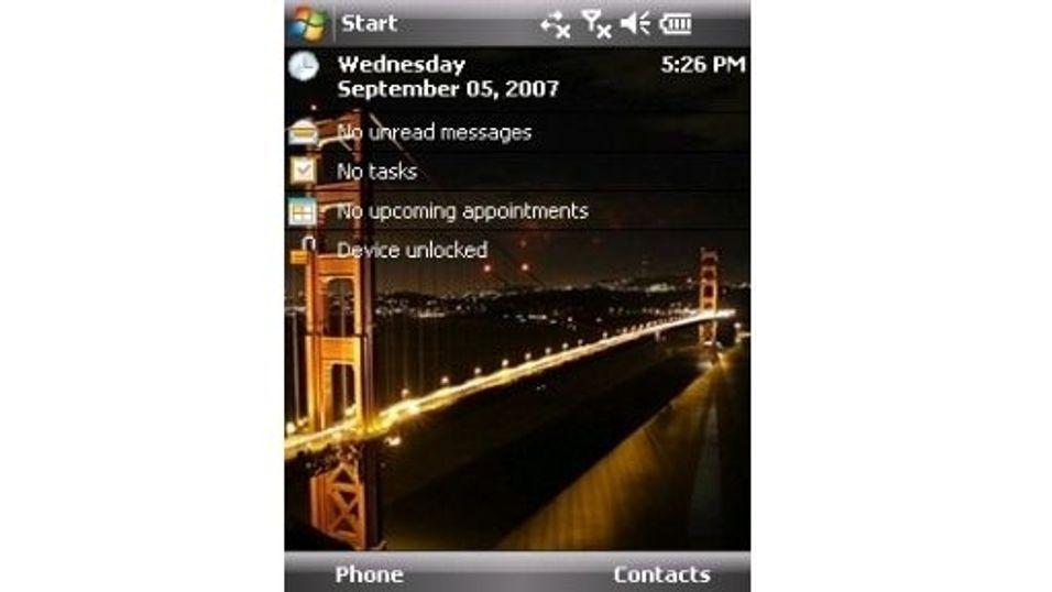 San Francisco bridge mobiltema
