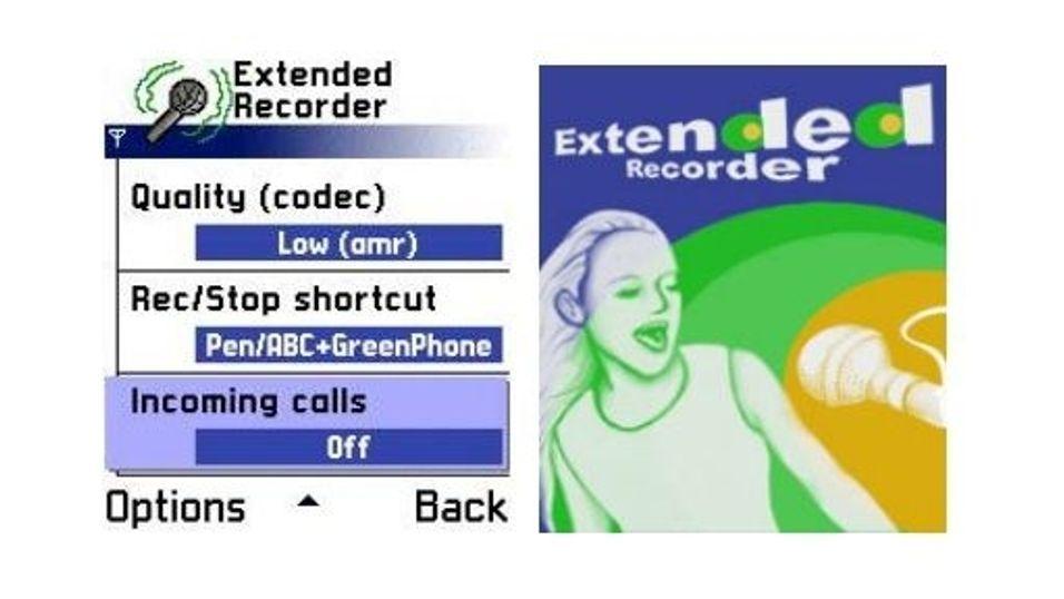 Psiloc Extended Recorder