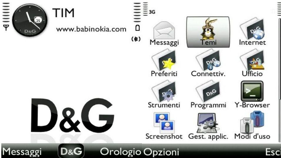 D&G v2 mobiltema