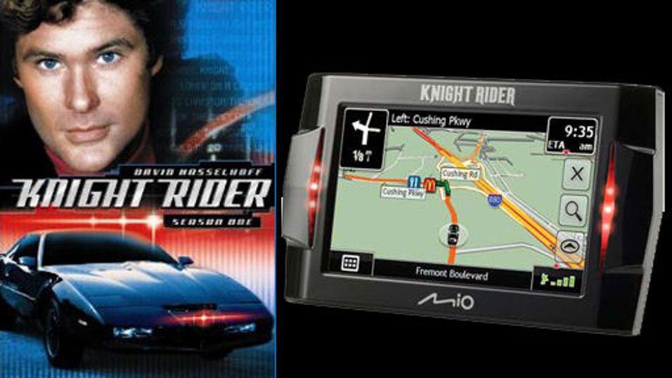 Nå kommer Knight Rider-GPS-en