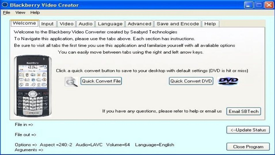 Blackberry Video Converter