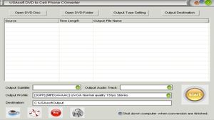 USAsoft DVD to Cell Phone Converter