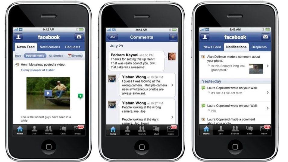 Ny Facebook for Iphone
