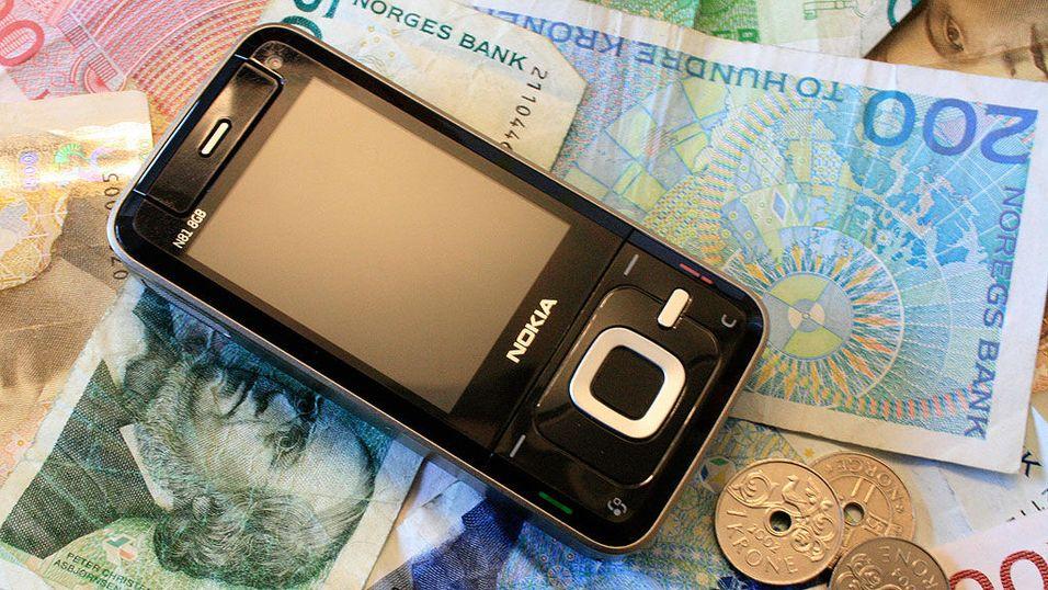 Barbér mobilregningen