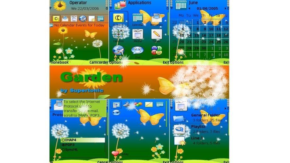 Garden mobiltema