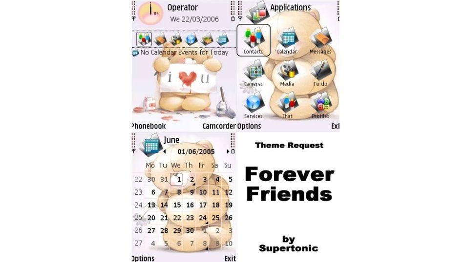 Forever Friends mobiltema