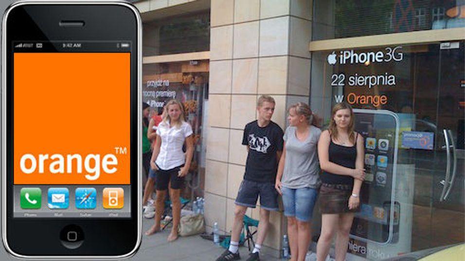 Fikk betalt for å stå i Iphone-kø