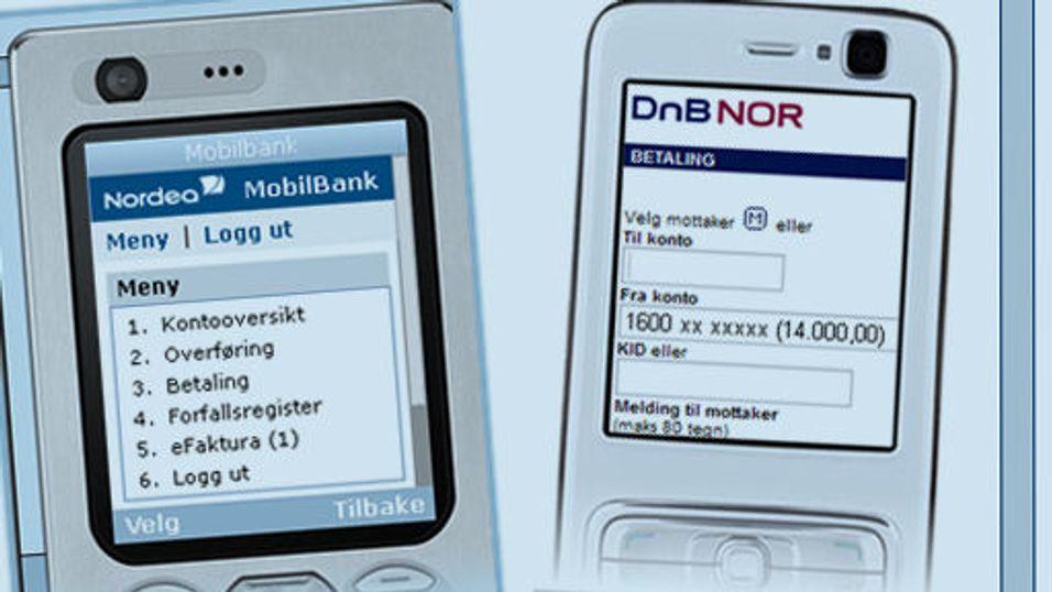 Populært med mobilbank