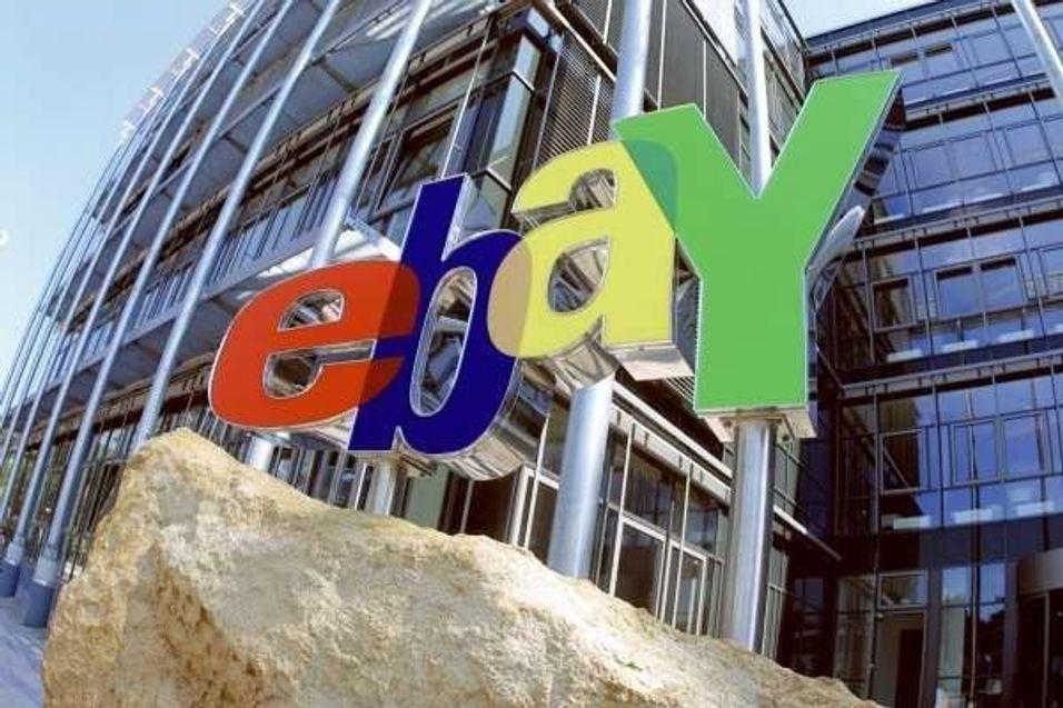 Grønn nettbutikk fra Ebay