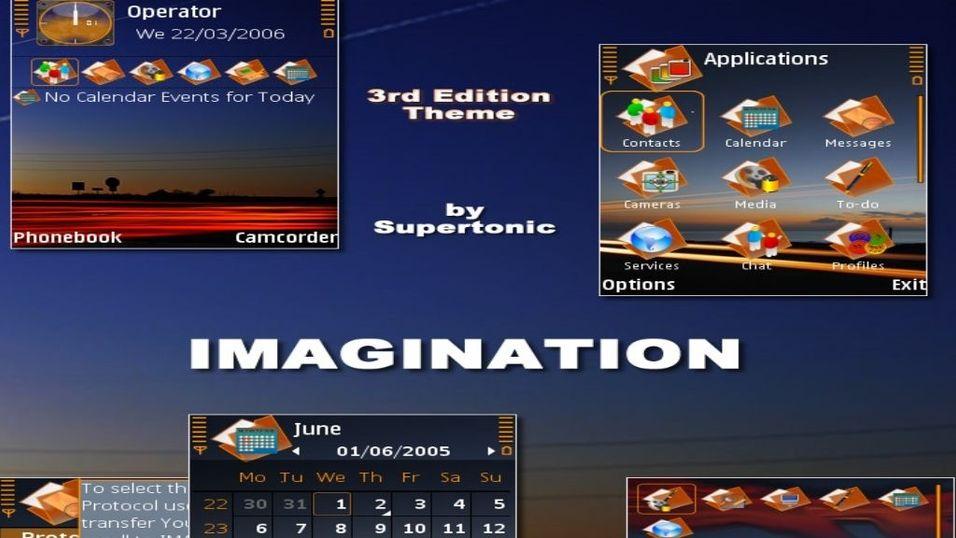 Imagination mobiltema