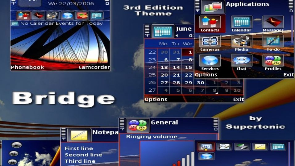 Bridge mobiltema