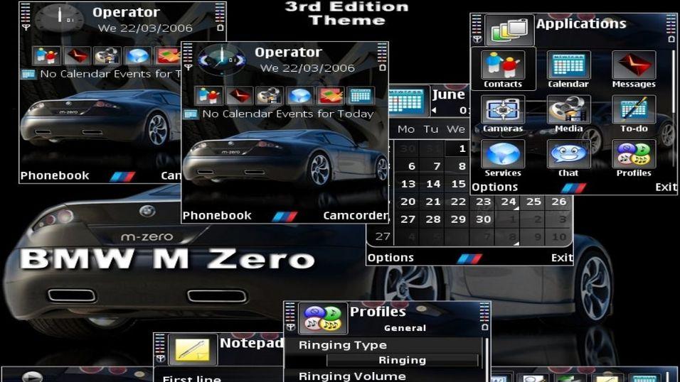 BMW M Zero mobiltema