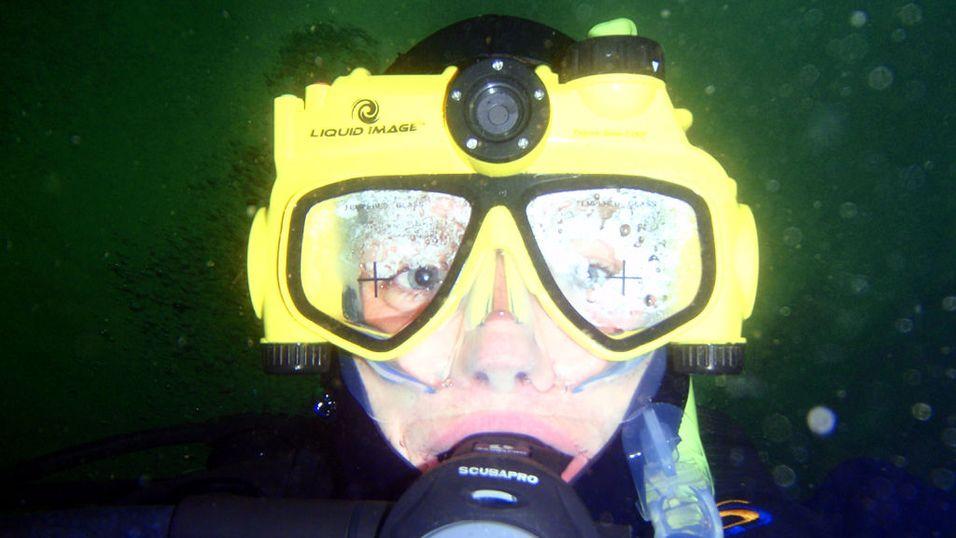 TEST: Vi tester dykkermaske med kamera