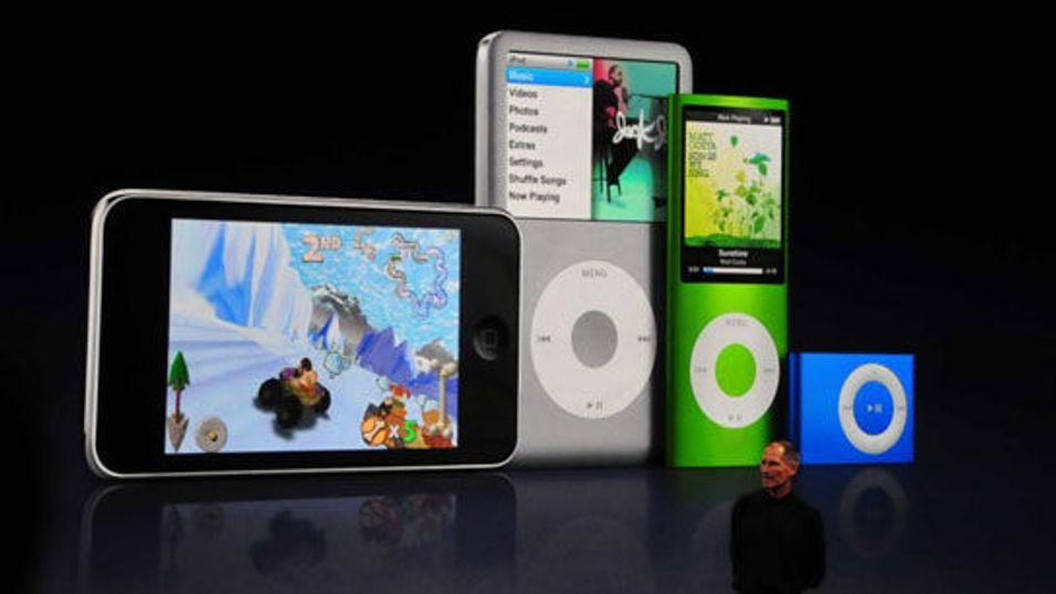 Itunes 8, HD-serier og nye Ipod-er