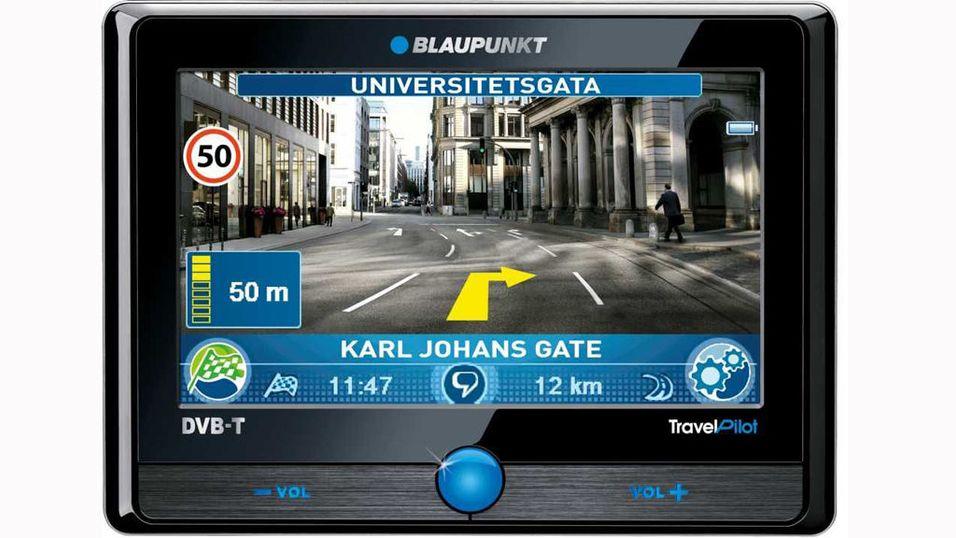GPS med videonavigasjon