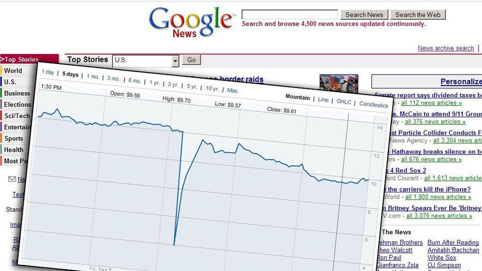 Tapte milliarder på Googleglipp
