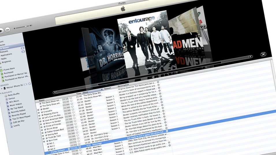 TEST: Apple Itunes 8