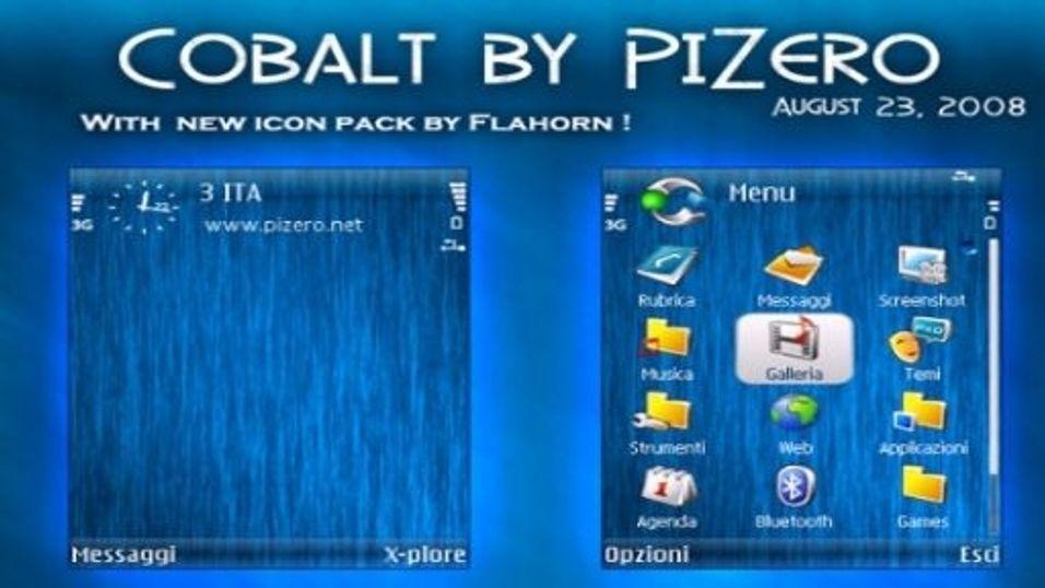 Cobalt mobiltema