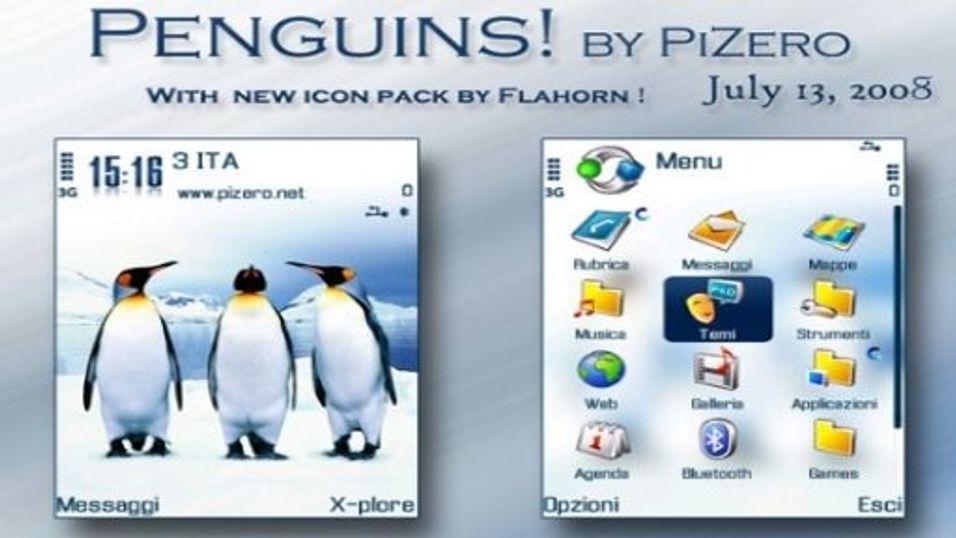 Penguins mobiltema