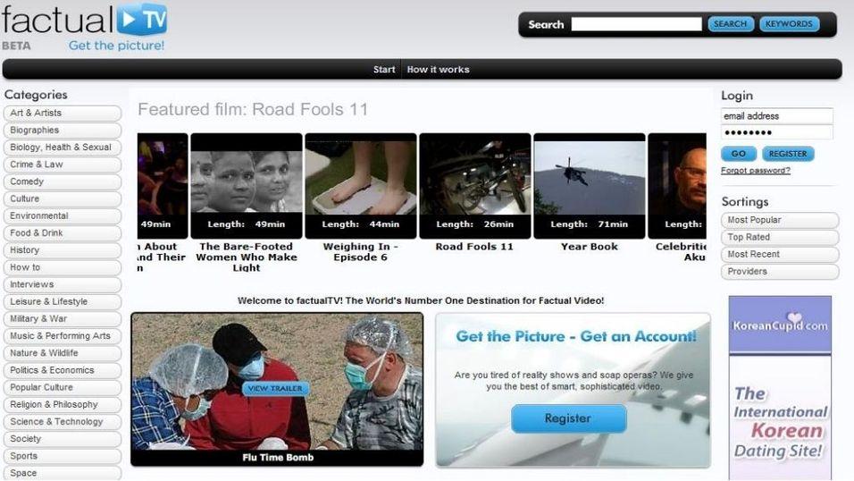 Dokumentarkanal på nettet