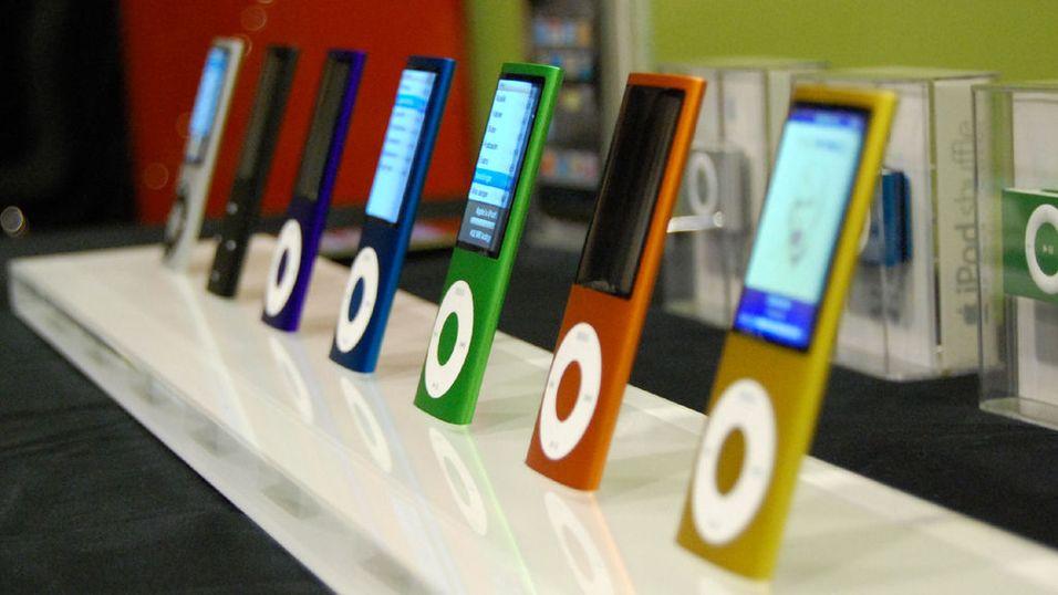 Sniktitt på nye Ipod Nano