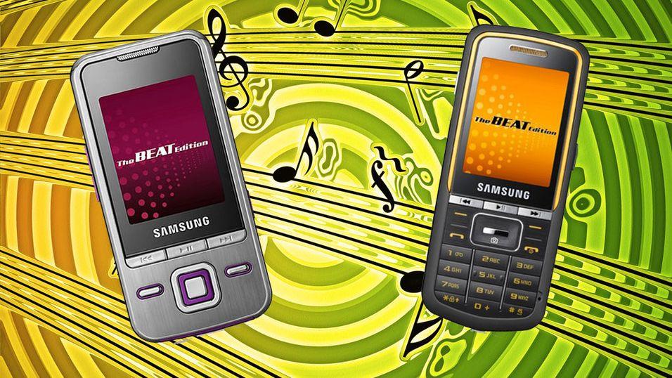 Se Samsungs nye musikkmobiler