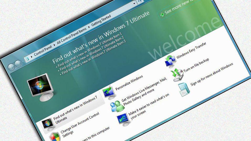 Se neste versjon av Windows