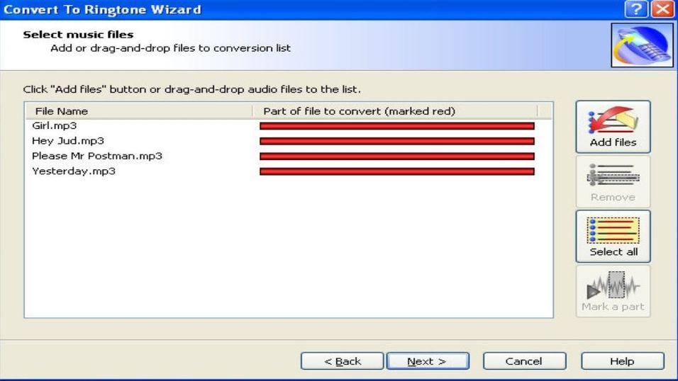 Convert to ringtone wizard 1.16