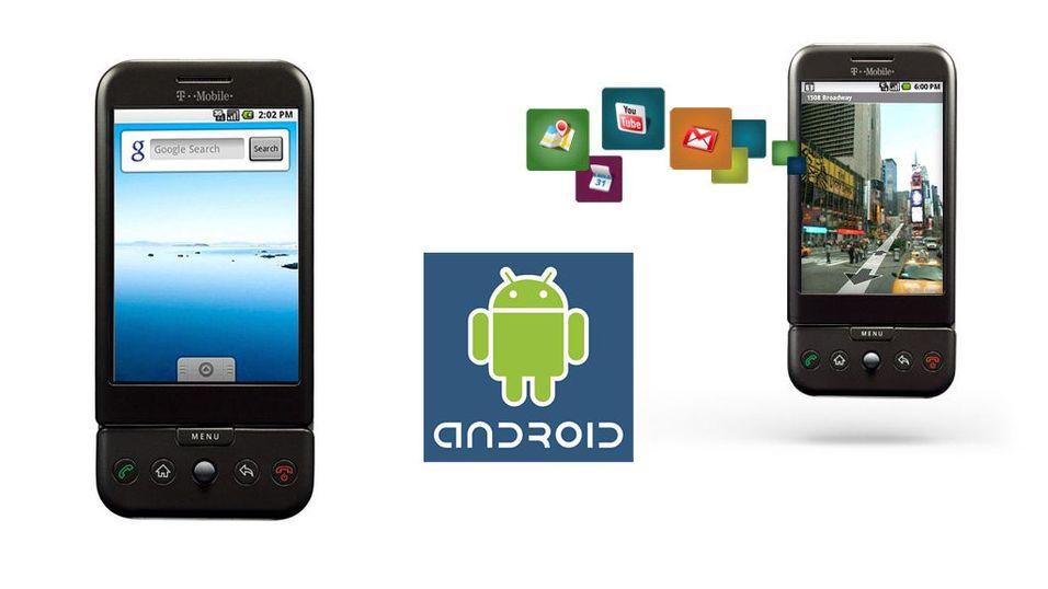 Se video og bilder av Google-mobilen