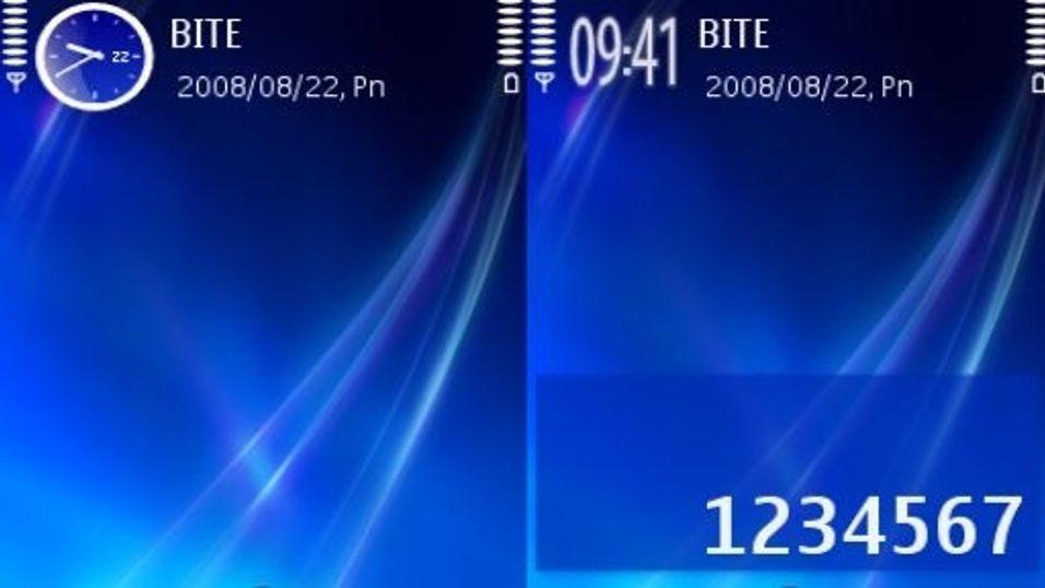 Blue Vista v3 mobiltema