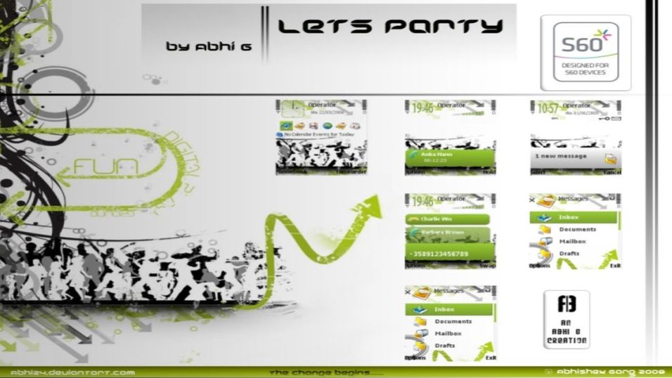 Let's Party mobiltema