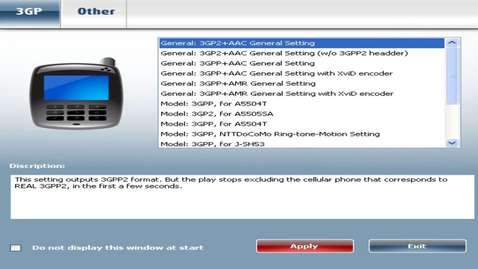 Fox 3GP Video Converter 8.0.10.24
