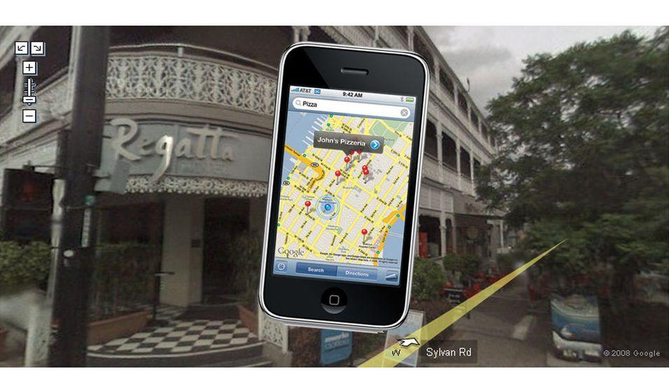 Nå får Iphone smilefjes og Street View