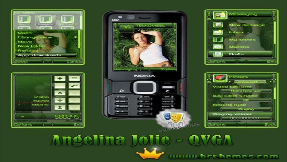 Angelina Jolie mobiltema