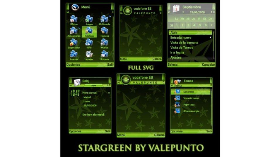 StarGreen mobiltema