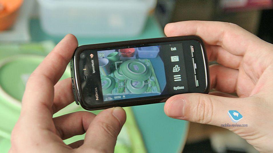 Første test av Nokia Tube