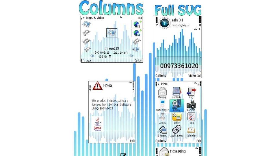 Columns mobiltema