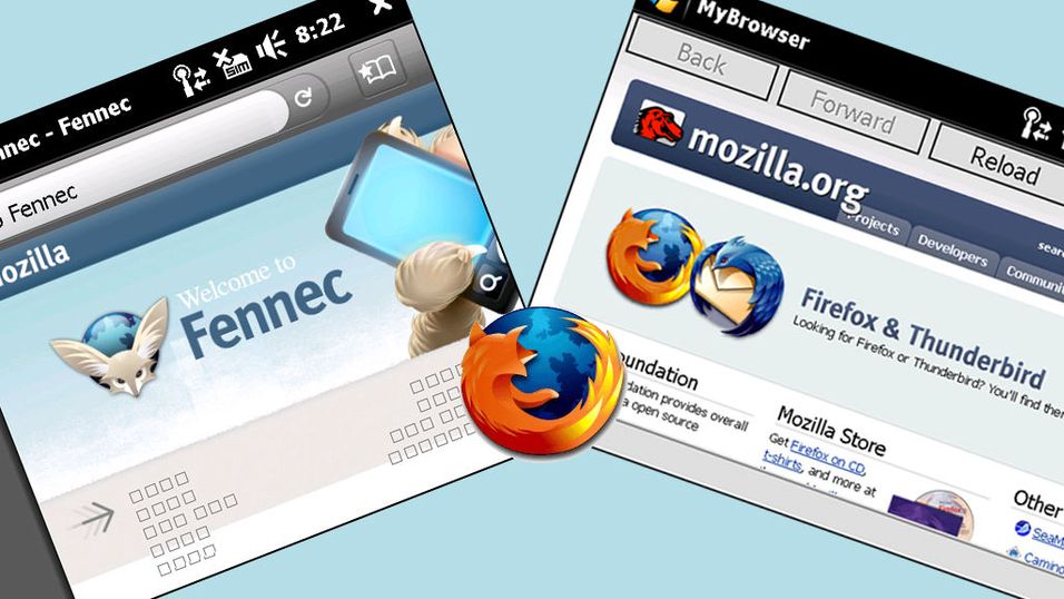 Lovende for mobilutgaven av Firefox
