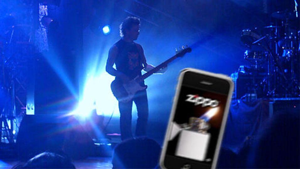 Lys opp konserten med Iphonen din