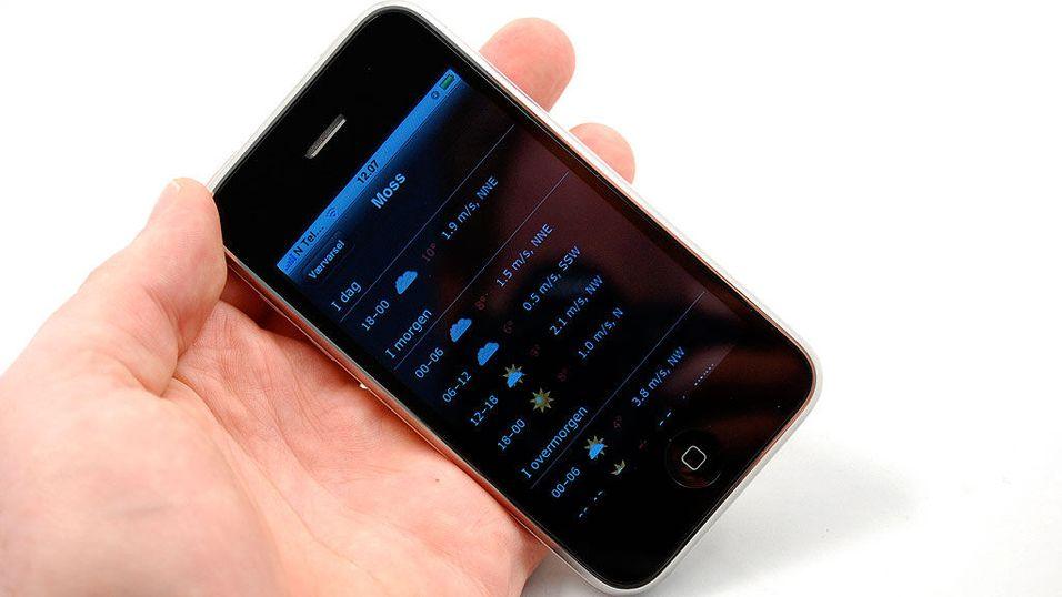 Lyntest: Yr på Iphone